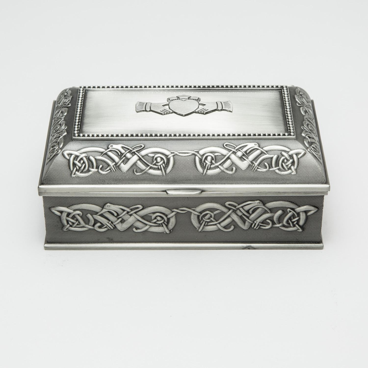 Mullingar Pewter Jewelry Box