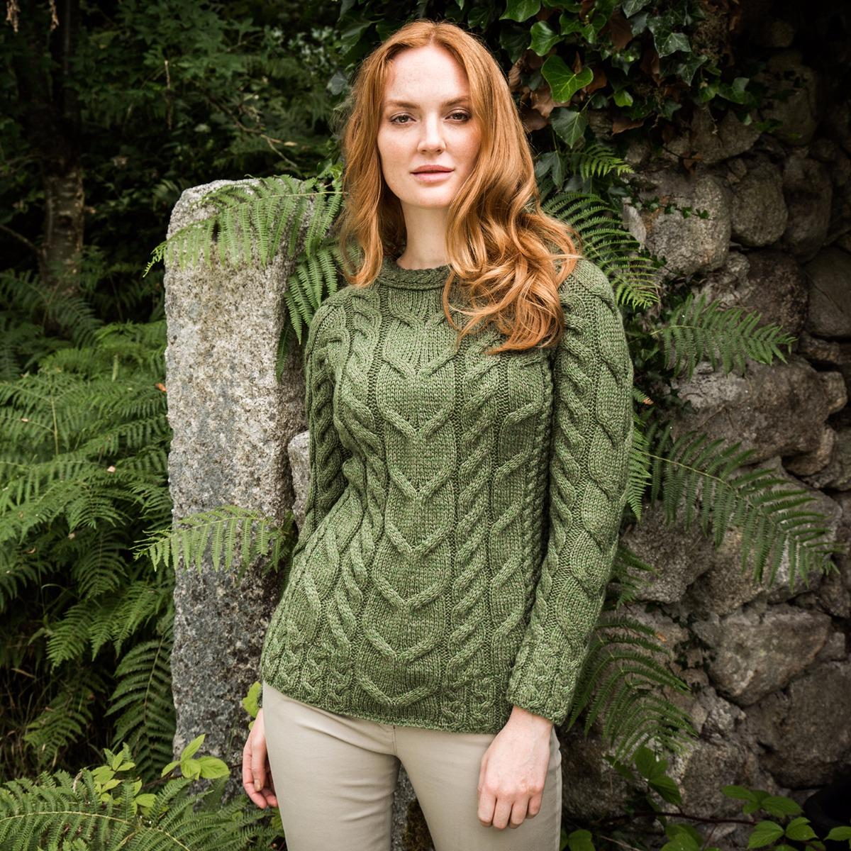 Ardara cable sweater
