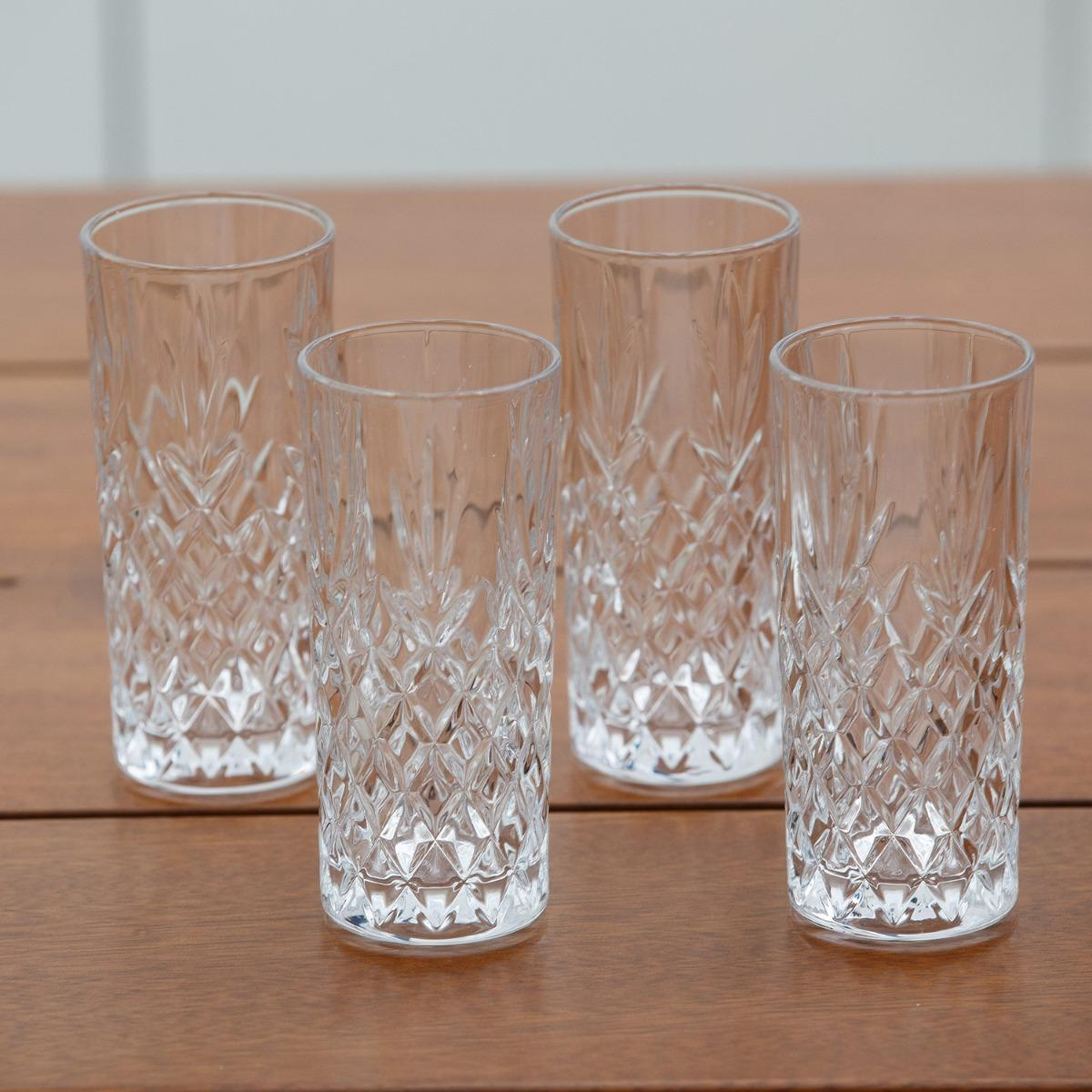 Galway Crystal Highball glasses