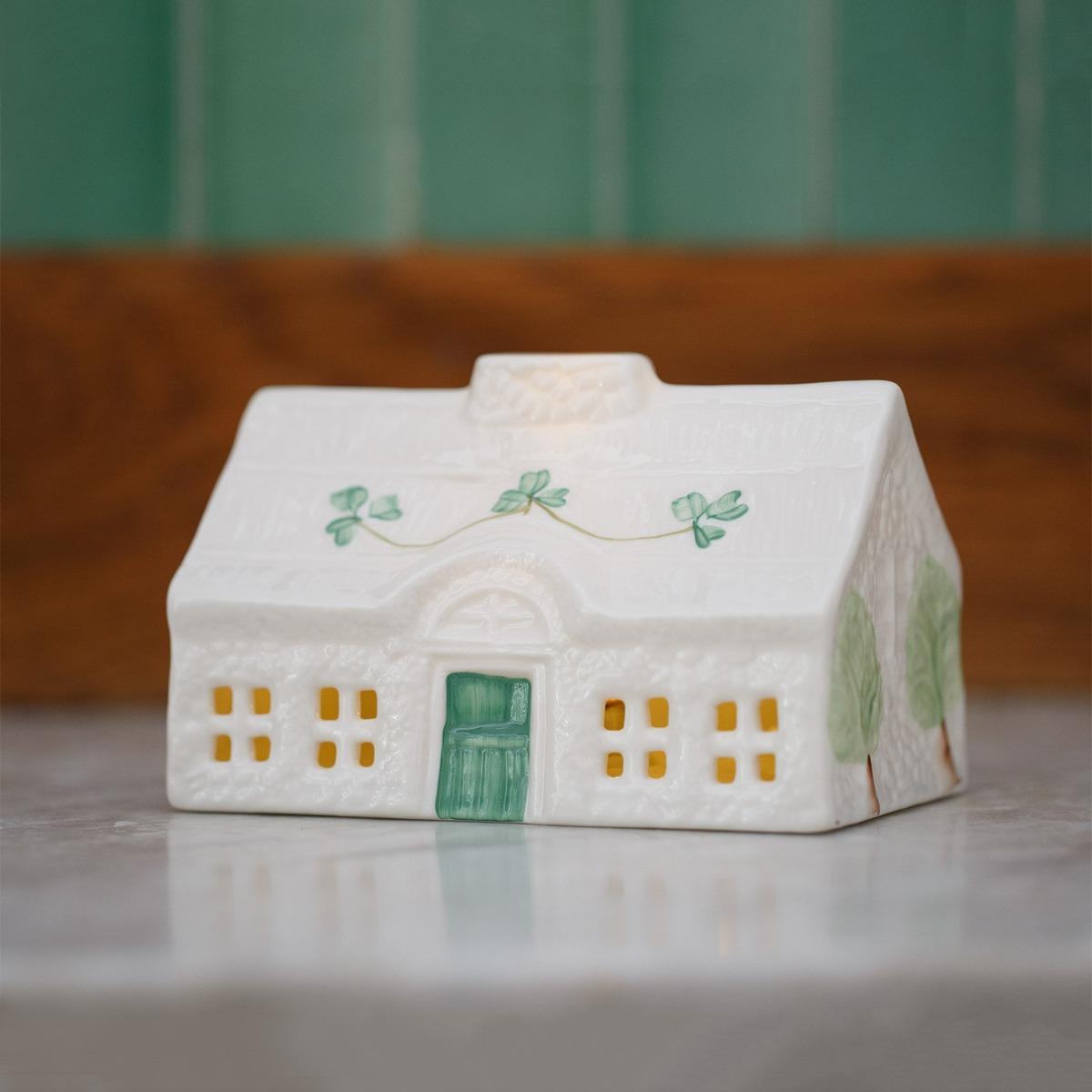 Belleek Pottery Cottage Irish Homeware