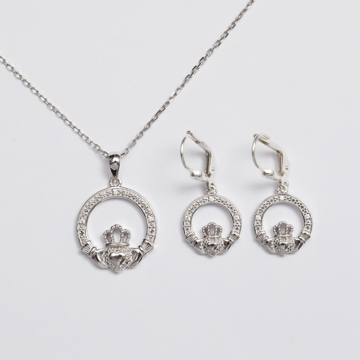 Claddagh jewelry set