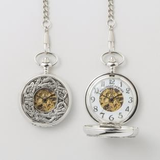 Mullingar Pewter Book of Kells Pocket Watch