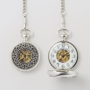 Celtic Trinity Mechanicle Pocket Watch P294