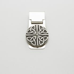 Mullingar Pewter Trinity Knot Money Clip