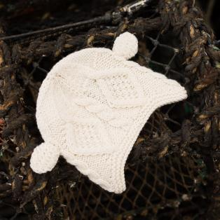 Children's Handknitted Wool Hat with Ears