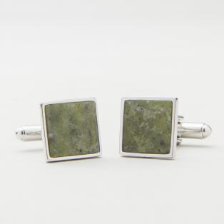 Connemara Marble Green Cufflinks