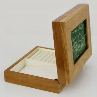 Connemara Marble Oakwood Jewelry Box