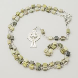 Connemara Marble Rosary Beads Knock Water Font