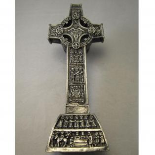 Mullingar Pewter Clonmacnoise High Cross Sculpture