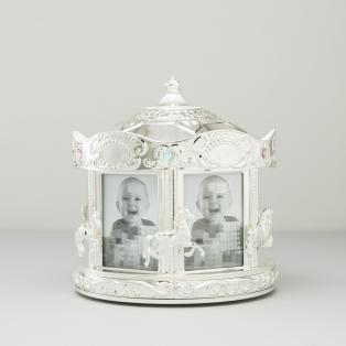 Rotating Carousel Baby Photo Frame