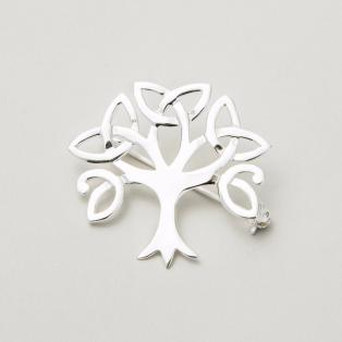 Trinity Tree of Life Brooch
