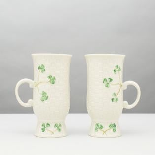 Belleek Irish Coffee Mugs