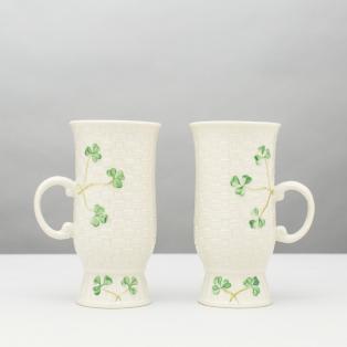 Belleek Irish Coffee Mugs