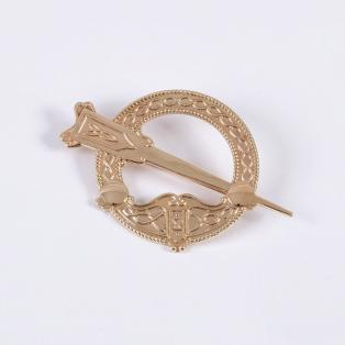 10k Gold Tara Brooch