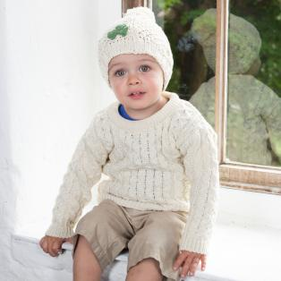 Irish Shamrock Kids Hat
