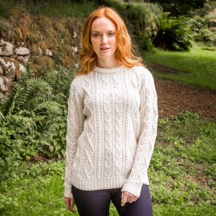 Ladies' Connacht Aran Sweater