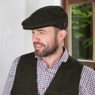 Irish Wool Trinity Flat Cap