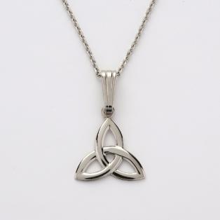 Sterling Silver Trinity Knot Celtic Pendant