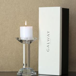 Galway Crystal Paris Candleholder