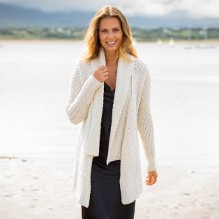 Ladies Glenross Waterfall Cardigan