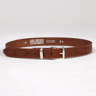 Men's Owen Celtic Leather Belt