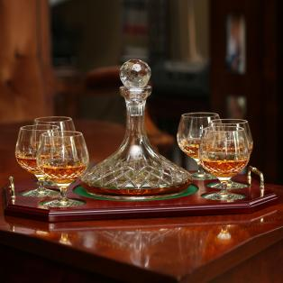 Longford Decanter Tray Set