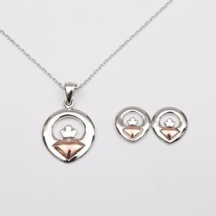 House of Lor Claddagh Jewelry Set