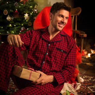 Tartan Pyjama Mens Set