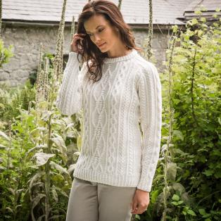 Ladies' Munster Aran Sweater