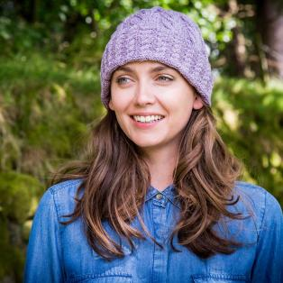 Ladies' Cashmere Blend Aran Hat