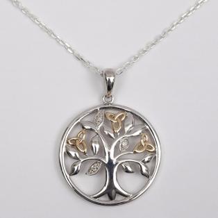 Tree of Life Diamond Pendant