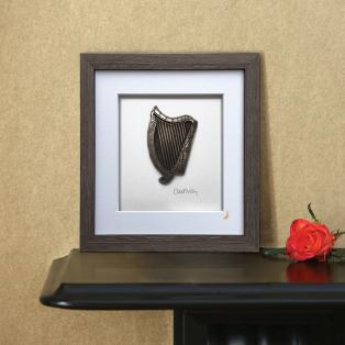 Wild Goose Framed Irish Harp