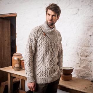 The Errigle Shawl Sweater