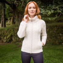 The Valentia Aran Cardigan