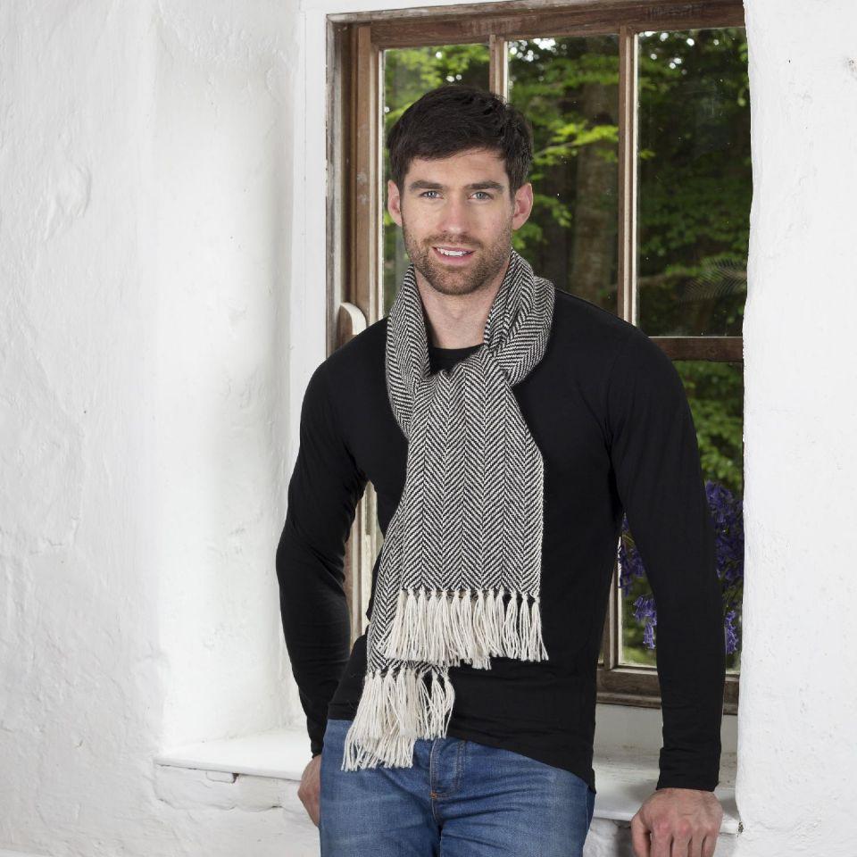 Mucros Weavers Alpaca scarf