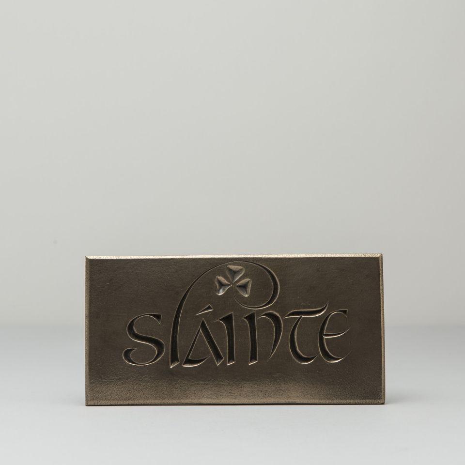 Slainte Plaque St. Patrick's Day Gift