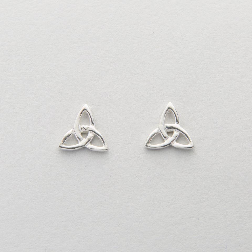 Clearance Trinity Knot Earrings