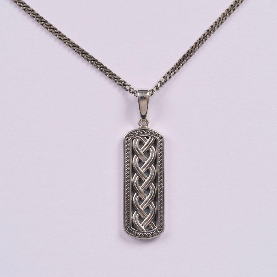 Celtic jewelry Ingot pendant