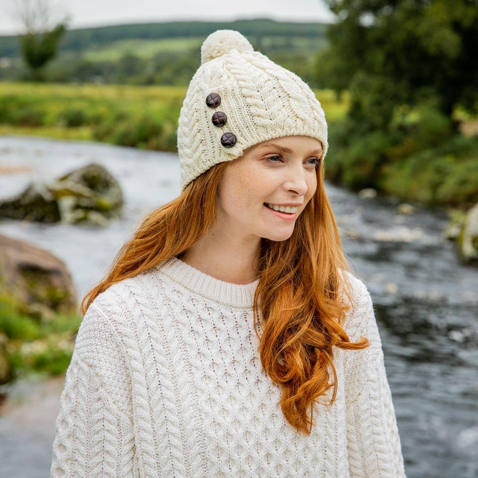 Christmas gift guide Aran hat