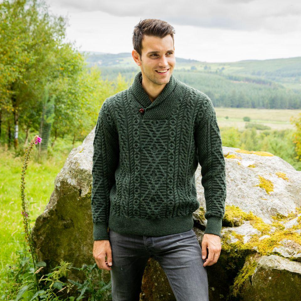 Fathers Day Aran Sweater