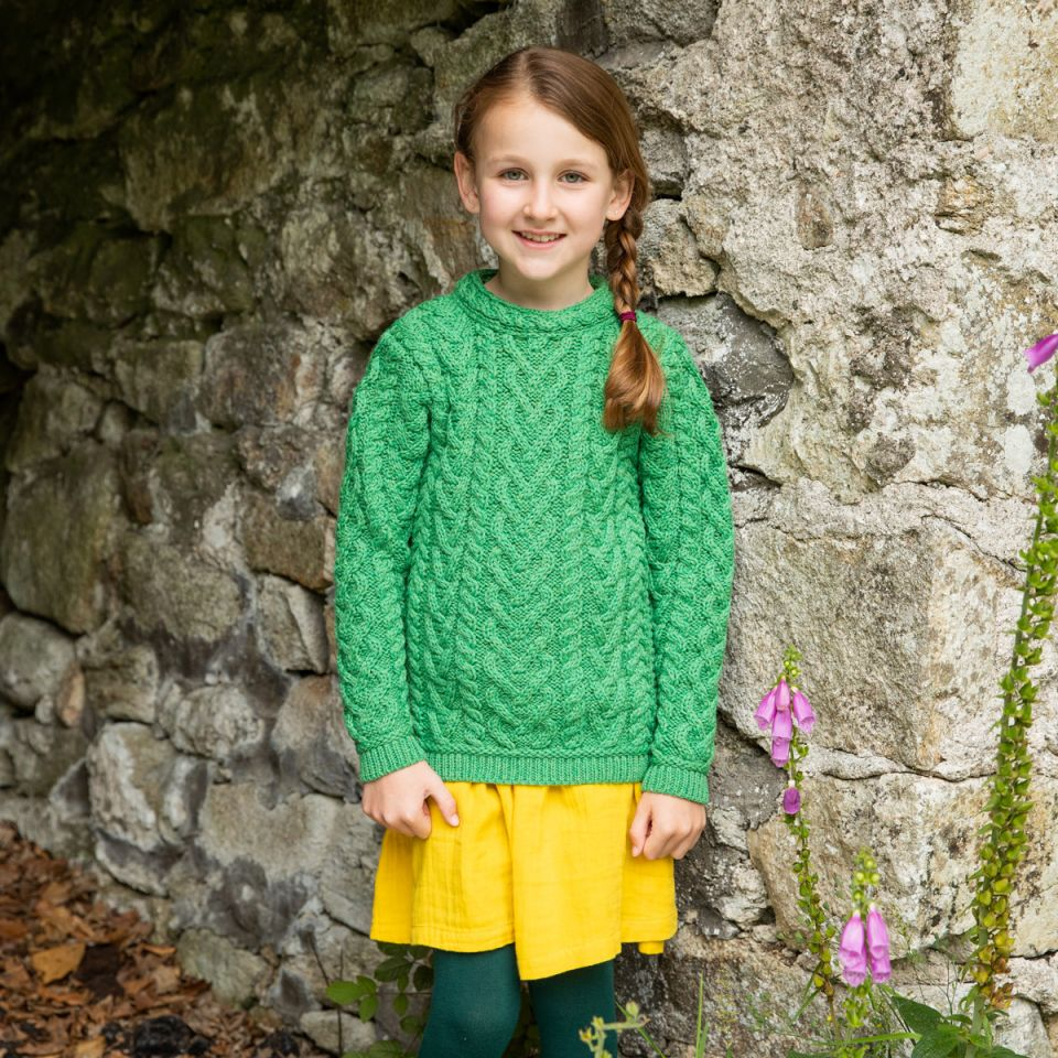 St. Patrick's Day sweater for girls