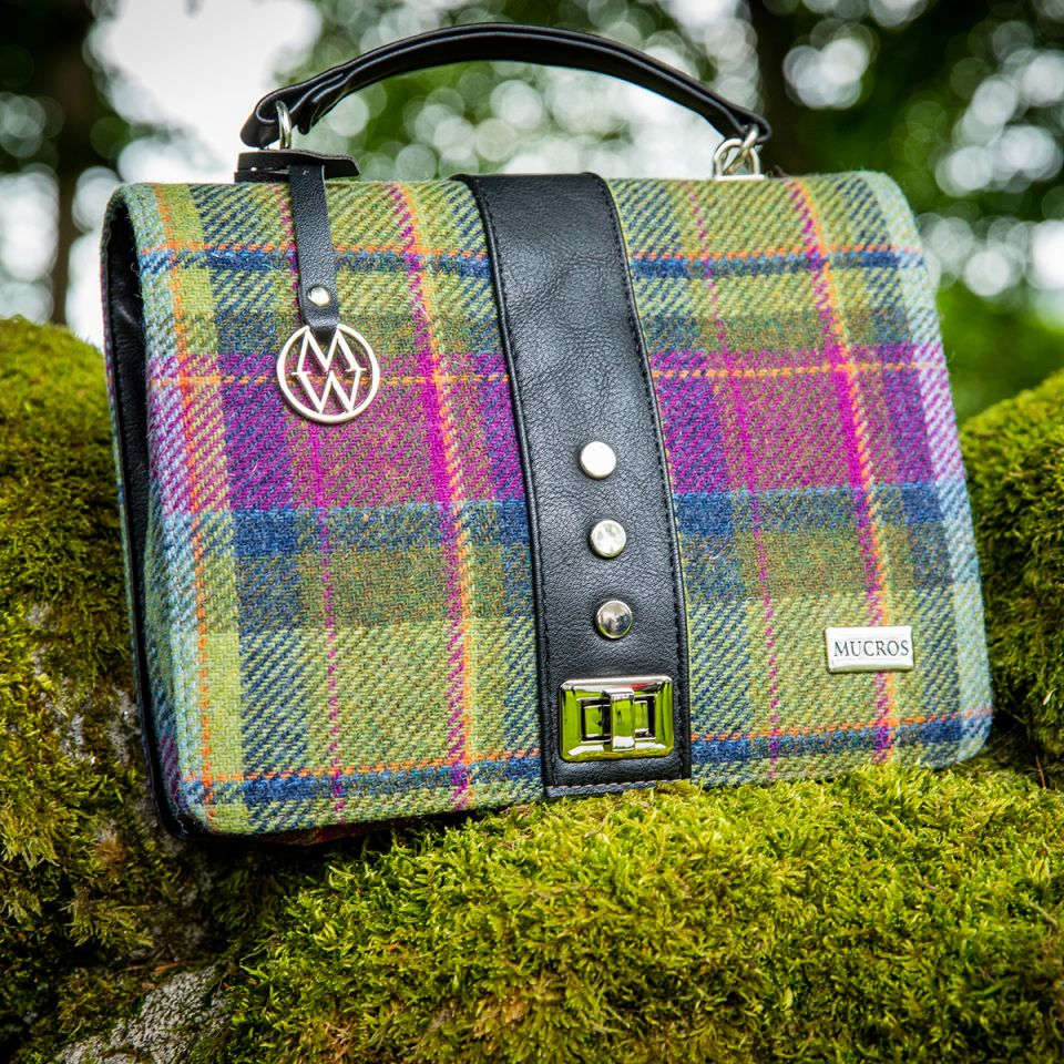 Mucros Weavers Tweed Bag
