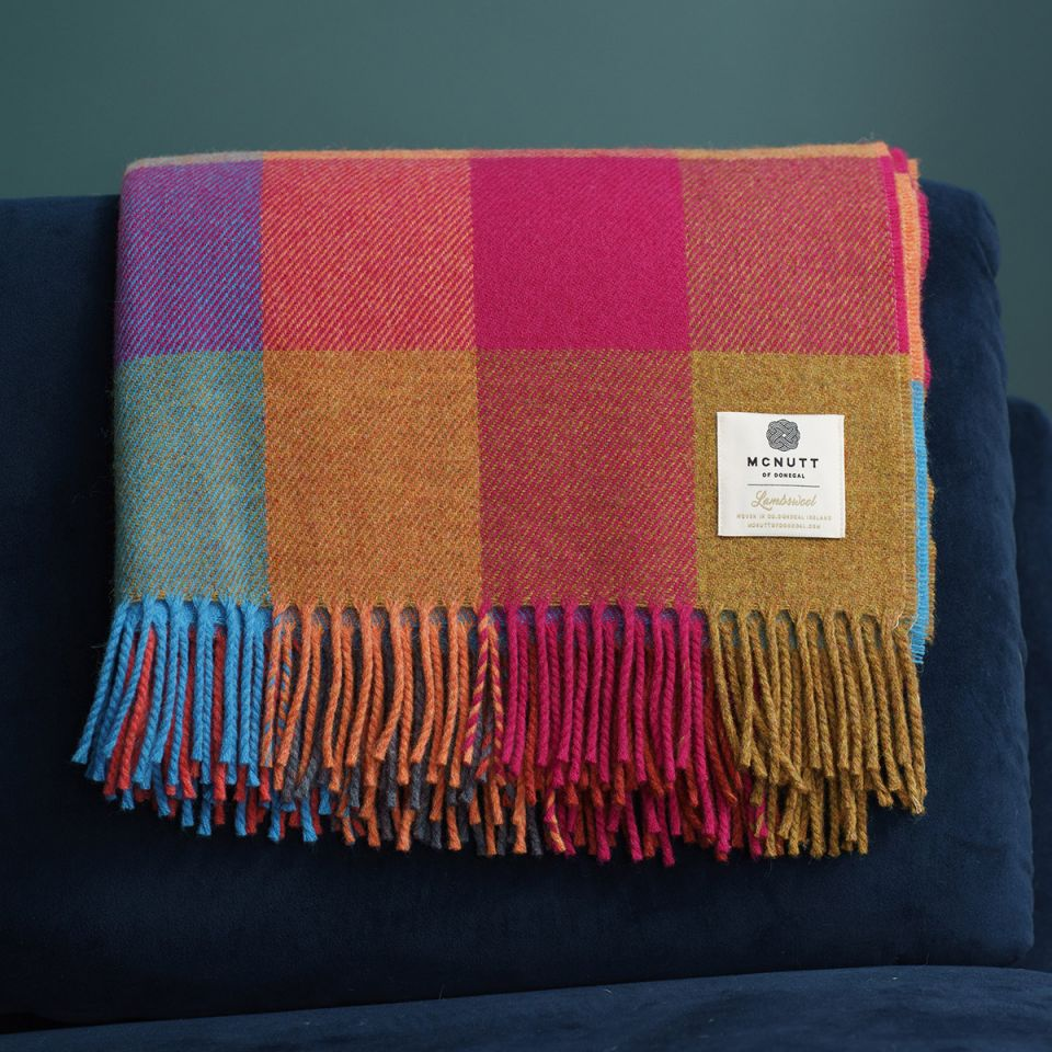 Irish Homeware Mc Nutt Throw