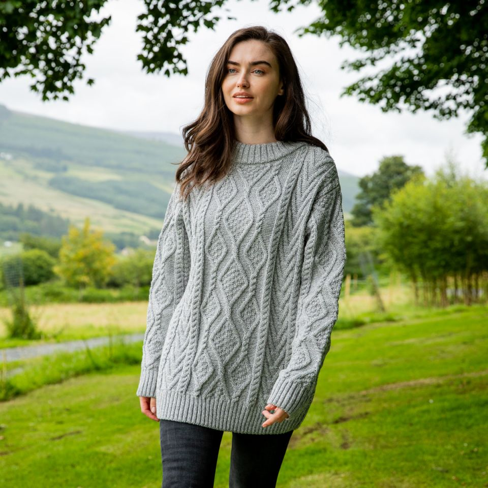 Winter Collection 2020 Nephin Aran Sweater