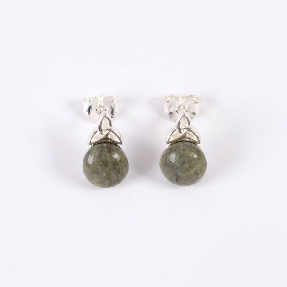 Connemara Marble Stud Earrings