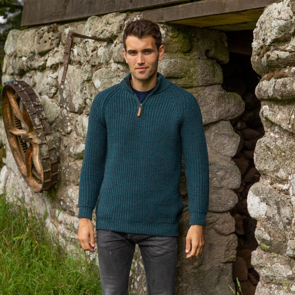 winter collection 2020 Inishmaan Fisherman's Sweater