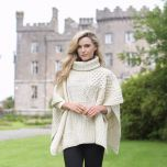 Merino Wool Ladies Cowl Cape