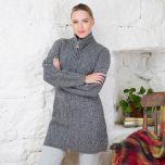 Cashmere Wool Celtic Zipper
