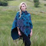 Fringed Irish Shawl With Celtic Design