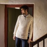 Men's Kinnagoe Aran Sweater